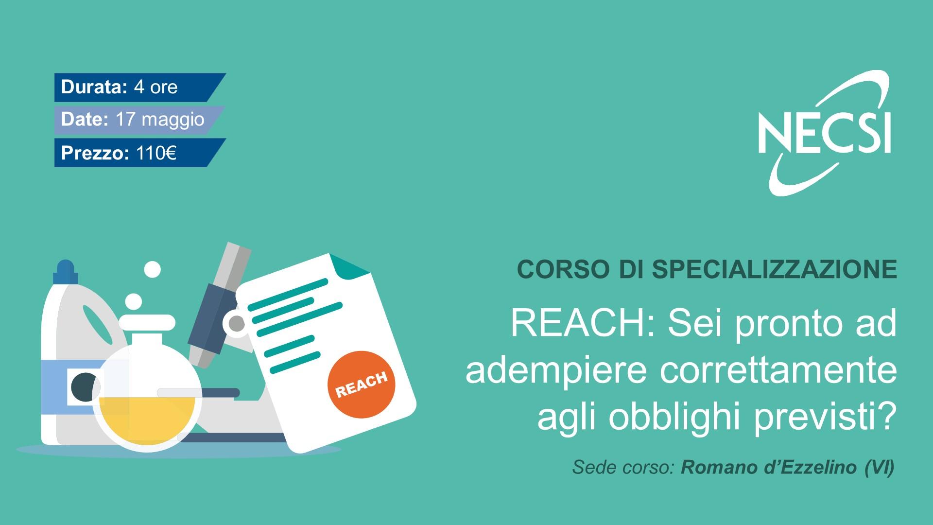 Corso REACH